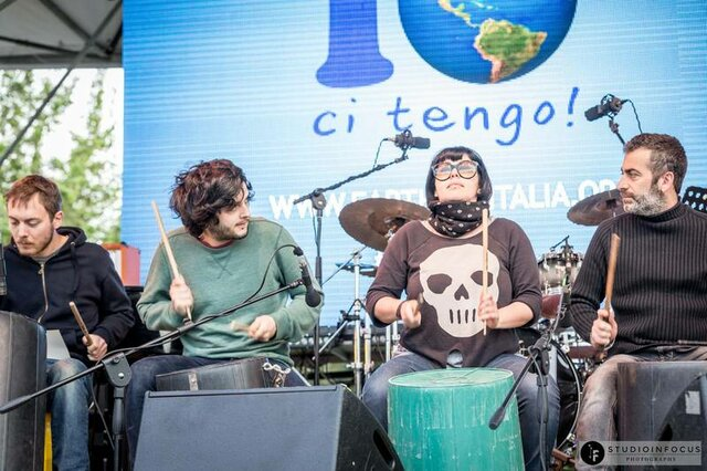 I Bamboo al Villaggio Earth Day Italia