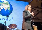 Mariella Nava al Villaggio Earth Day Italia