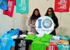 Lo stand di Earth Day Italia